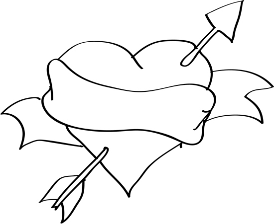 Dibujos para colorear de amor - Imágenes de amor