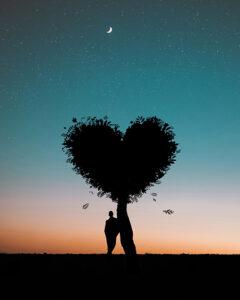 arbol corazon